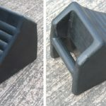 Handled Rubber Wheel Chock