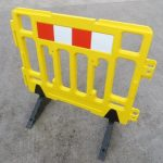 yellow barrier