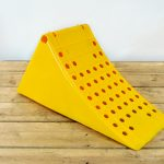 yellow plastic hgv chock