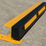 black and yellow kerb
